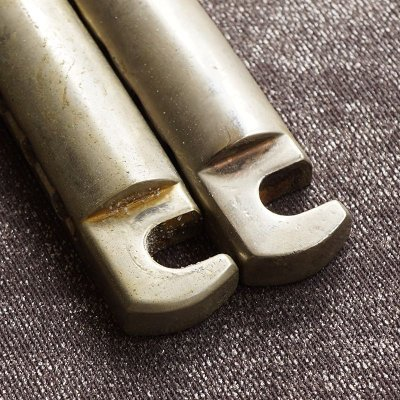 画像2: ★True Historical Lightweight Tailpiece Nickel AGED - 19001