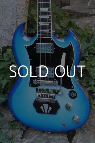 画像1: Gibson SG Goddess Skyburst with Vintage Maniacs Ebony Block (1)